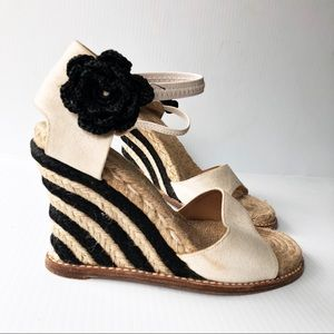 Kate Spade Granada  Espadrilles Wedge Sandals 37